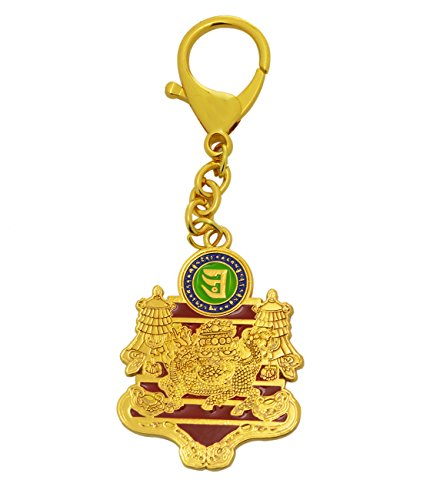 Feng Shui Wealth and Success Amulet Keychain W Fengshuisale Red String Bracelet W2387 (Lin Keychain Chi)
