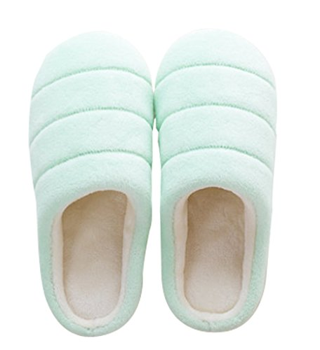 Cattior Womens Coral House Shoes Warm Slippers Green h4ThhcWKTl