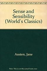 Title Sense And Sensibility Worlds Classics Authors Jane Austen ISBN 0 19 250389 8 978 3 UK Edition