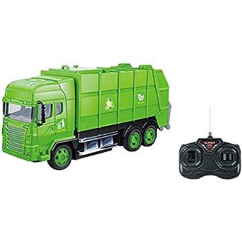 Amazon Com R C Garbage Sanitation Recycling Truck Remote