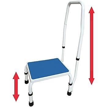 Amazon Com Delxo 2 Step Ladder Folding Step Stool Steel