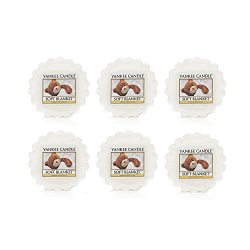 Yankee Candle Lot of 6 Soft Blanket Tarts Wax Melts