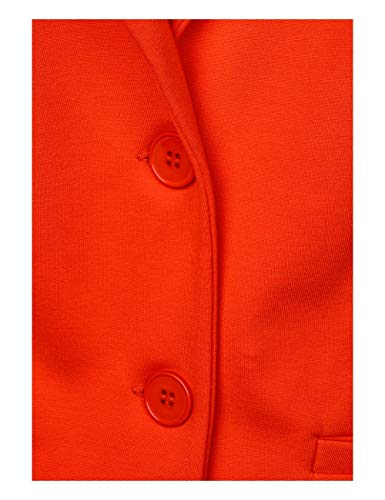 Street 11640 Orange hot Blazer One Donna Rosso qnrYSwx1qH