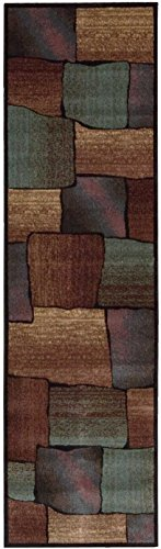 "Nourison Expressions (XP05) Multicolor Runner Area Rug, 2-Feet 3-Inches by 8-Feet  (2'3"" x 8')"