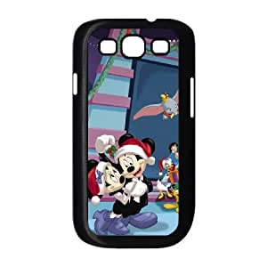 Mickey's Magical Christmas Snowed in at the House of Mouse Samsung Galaxy S3 9300 Cell Phone Case Black Gpeem