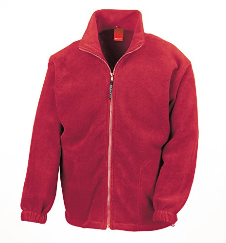 Result Active Fleece Jacke - Rot, S