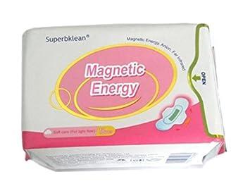 LONGRICH Pantyliner NAPKIN Magnetic Energy Anion Negative Ions 18 Pcs