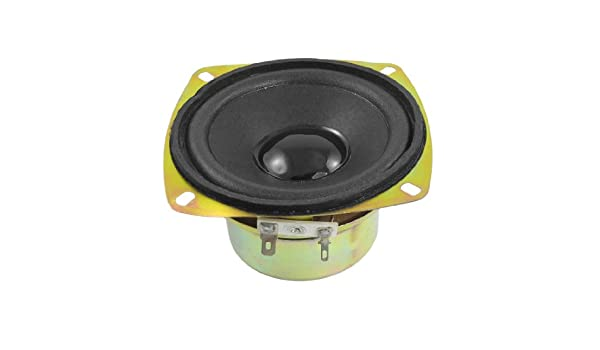 Aexit 15W 4 Ohm Aluminum Housing Round Internal Magnet Speaker 4 Diameter