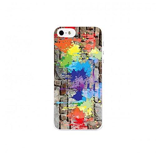 Coque + Verre Trempé pour iPhone 5/5S/SE SmartCase® STREET ART 2