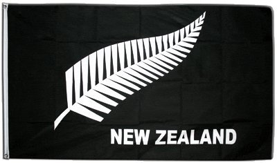 Flagge Neuseeland Feder All Blacks 90 X 150 Cm