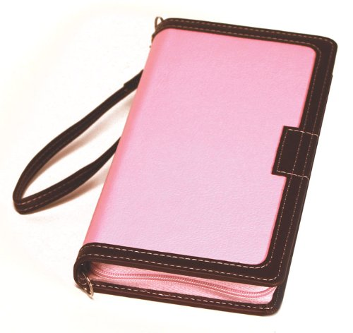 Bible Clutch New International Version, Pink / chocolate, Italian ()