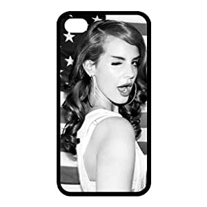 Customize Famous Singer Lana Del Rey Back Case for iphone 4 4S JN4S-1960