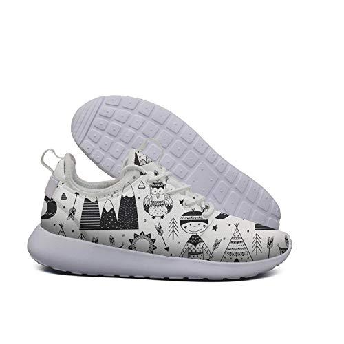 Fun boy owl Tribal Running Big Shoes ERSER Tribal Boy And Women x5wqUppI