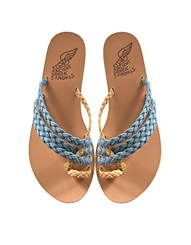 Sandals Amaliadenim Femme Denim Ancient Sandales Bleu Greek Zq5t8v