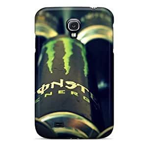 Zheng caseAwesome Its Monster Drink Flip Case With Fashion Design For Galaxy S4