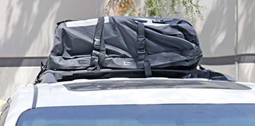 Suv Bag - Soft Shell Roof Cargo Bag Universal for Cars Trucks SUVs Waterproof 15 Cubic Ft