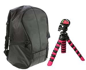 Aktions-Set Rollei 300 - Mochila para cámara con trípode de viaje, color negro