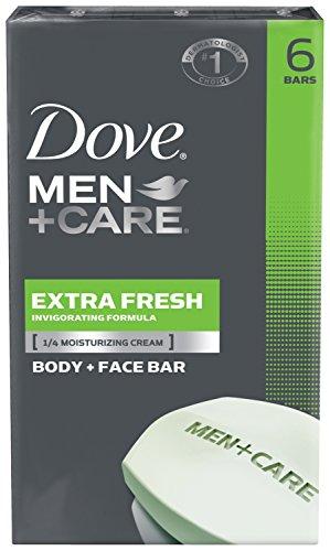 Dove Men + Care corps et visage Bar, extra-frais 4 oz, 6 bars