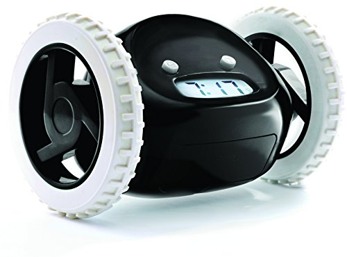 clocky the run away alarm clock The alarm clock that rolls away from you catch it if you can.