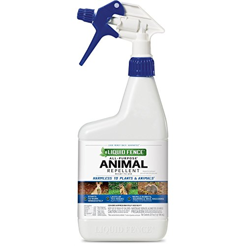 Liquid Fence 65007, RTU All-Purpose Animal Repellent, Liquid Ready-to-Use