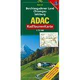 ADAC RadTourenKarte 50. Berchtesgadener Land, Chiemgau, Salzburg. 1 : 75 000: Mit Ortsverzeichnis, Freizeitführer mit Bahn&Bike-Infos