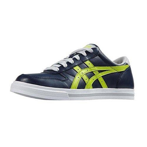 Asics Aaron GS - Zapatillas para niño Varios colores (Navy /         Lime)