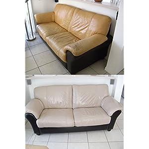 Furniture Blend It On Top Coat Satin Finish Sealer Use after you have used Leather Refinish Color Restorer or Blend It On Restorer