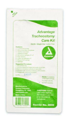 Advantage Trach Care Kit One Compartment Tray Case/20
