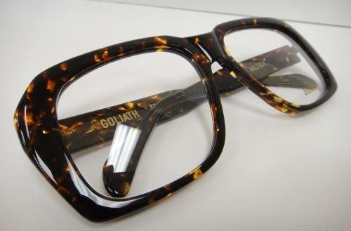 59cb56668c Amazon.com  Ultra Goliath Ii Eyeglasses Vintage Ocean s 11 Casino Robert De  Niro Tortoise  Clothing