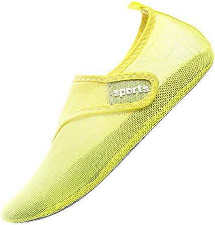 男性と女性の水陸両用光通気性水泳シューズヨガオーシャンサーフダイビングビーチシューズ排水良いカップルの靴