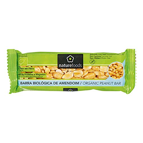 Amazon.com: NATURE FOODS - Gluten Free Snack Bars - Organic WHOLE PEANUT - 10 x 40gr / 1.41oz (10 x Snack Bars): Kitchen & Dining