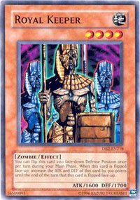 Amazon.com: Yu-Gi-Oh! - Royal Keeper (SDZW-EN006 ...