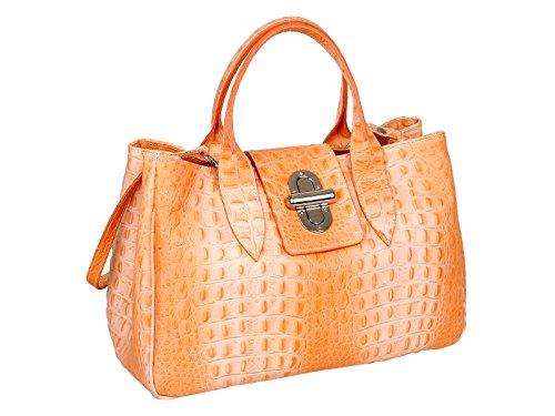 Scarlet Bijoux, Sac à bandoulière pour femme taille unique Orange (Orange)
