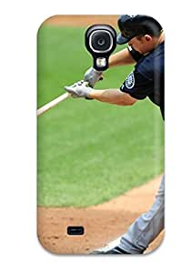 Hot seattle mariners MLB Sports & Colleges best Samsung Galaxy S4 cases