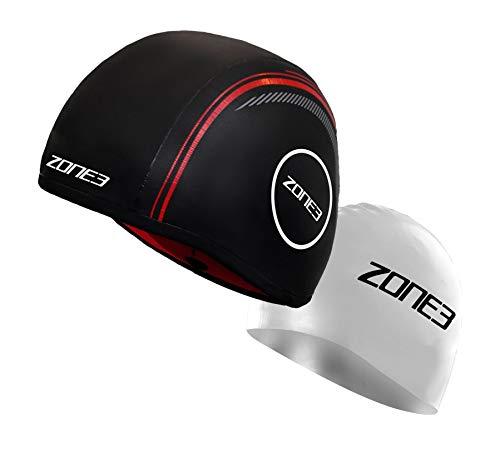ZONE3 Neopren Schwimmkappe riemenlos Unisex