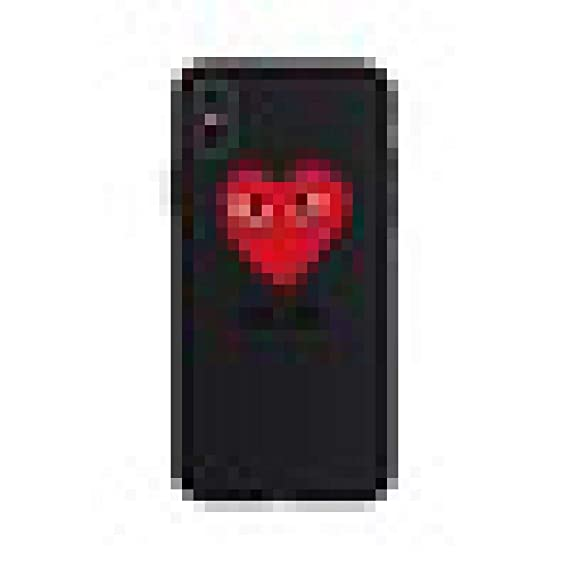 cdb8a356f3d Amazon.com: CDG Play Heart Soft Case for iPhone 7 7Plus 8 8Plus 6s 6 ...