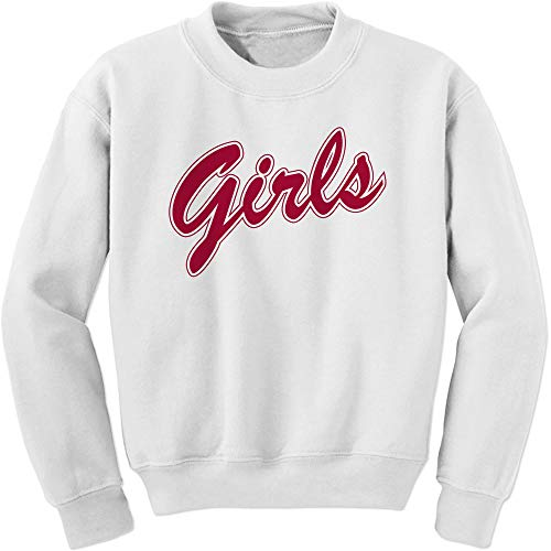 Crew Monica Rachel Shirt That Says Girls (Red) Adult Small White