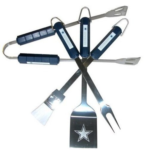 Nfl Dallas Cowboys 4 Piece Barbecue Set