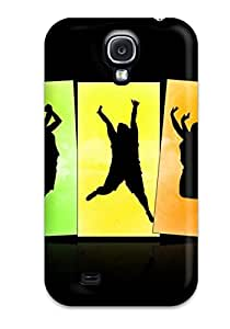 New Style Case Cover Crazy Jumps Wide Compatible With Galaxy S4 Protection Case