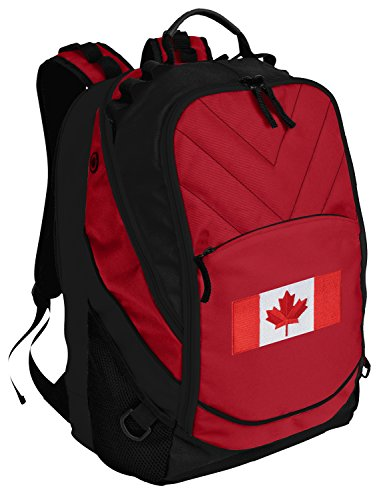 Canada Backpack Canada Flag Laptop Computer Bag (Backpack Flag Canada Women compare prices)