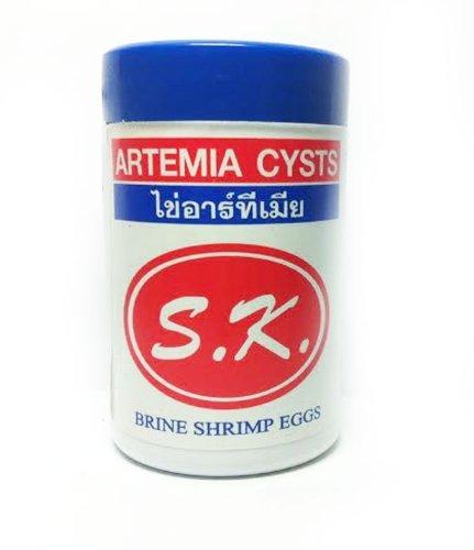 S.K. Brine Shrimp Eggs, Artemia Cysts 50g 95% HATCH RATE