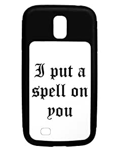I Put A Spell On You Halloween - Text Galaxy S4 Case