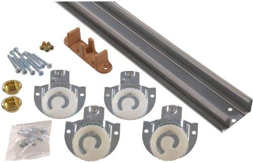 Installing Doors Fold Bi (Hillman Hardware Essentials Sliding Door Hardware Set 60