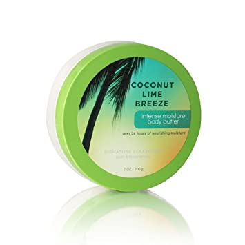 Bath Body Works Coconut Lime Breeze 7.0 oz Intense Moisture Body Butter