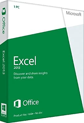 Microsoft Excel 2013 Key Card Non-Commercial (1PC/1User)