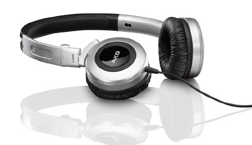 AKG K 430 Foldable Mini Headphone - Silver (Akg Folding Headphones)