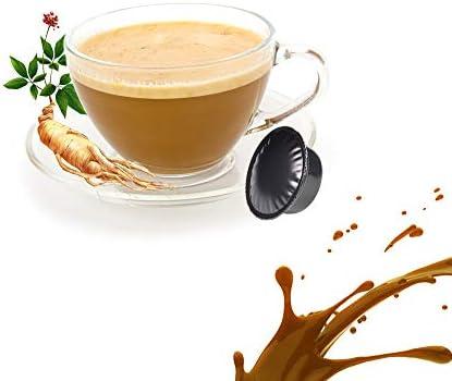 50 Capsule Caffè Solubile al Ginseng Compatibili Lavazza A Modo Mio – Cialde Solubile Ginseng