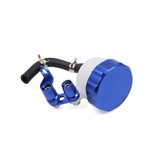 Sourcingmap CNC Front Brake Clutch Master Cylinder Fluid Reservoir Oil Cup Blue: Sports & Outdoors