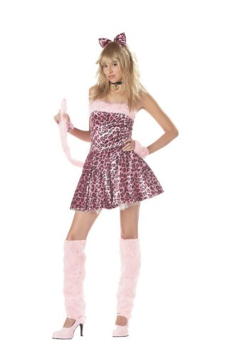 Teen Purty Kitty Costume - Teen 3-5