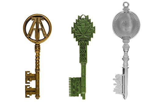 Funko Keys: Ready Player One-3PK-Green, Clear, Copper, Multicolor
